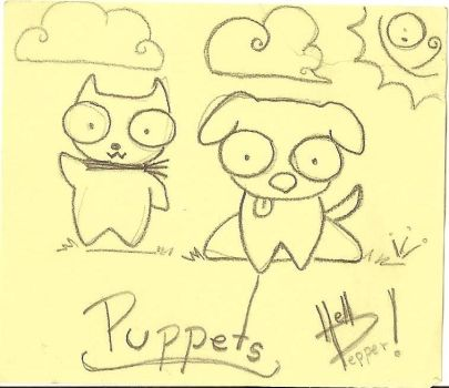 puppets by hellpepper
