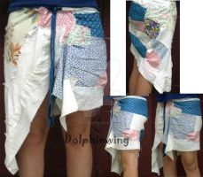 Calico Skirt by dollphinwing