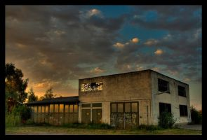 old factory by DiveSurfer