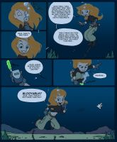 Diving Lessons with Kim Possible - P3 by underwatertoons