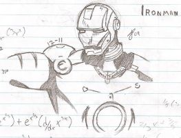 ::Plan To Sketch:: Ironman by oxEmi-chanxo