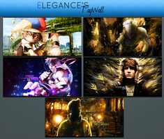 Tag Wall 1 by xElegancex