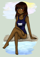 By the Poolside by kincheri