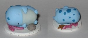 Sleepy Sea Quaggan Calf Chibi Statue by Erajia