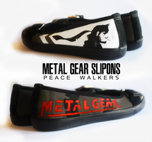 Metal Gear Slipon by Harpo-exe