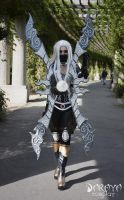 nightblade irelia cosplay by Daraya-crafts
