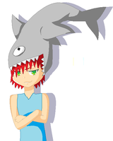 The Amazing Shark Hat! by Alos-the-Vampire