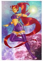 Starfire Wanderer by Glory-Day