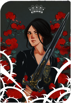 Commission :Queen of Swords by AlexielApril