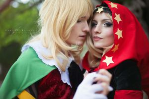 Odin Sphere, Velvet and Cornelius by katyuskamoonfox