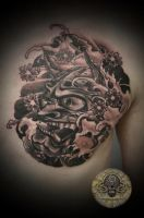 hanya in prog Tattoo by 2Face-Tattoo