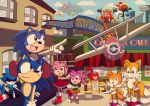 Celebrating 20 years of Sonic by darkoakster