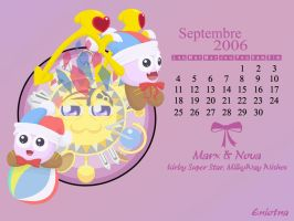 September Wallpaper by Eniotna