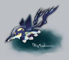 Primal Kyogre by delgalessio