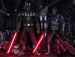 Rule the galaxy as father and son by WinterMute-MtH