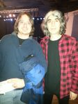 Me with Michel 'Away' Langevin of VOIVOD by metalheadrailfan
