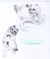 Cheshire Cat. Poses by singlebeate