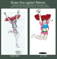 Before and After meme (Seven year's time) by Patchminka