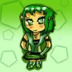 The green chibi by Pokechan13