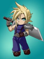 Chibi Cloud by glance-reviver