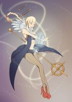 Angel by Chartreuse-Gale