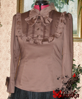 Chocolate blouse by Navika