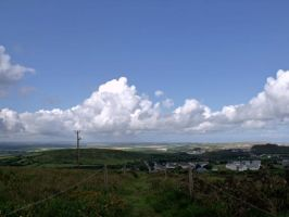 Fluffy Clouds by kaelby
