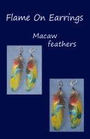 Flame On Dragon Earrings by SilverGryphon8