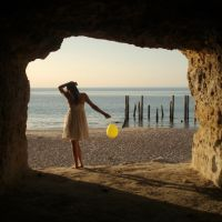 yellow balloon by Colour-My-Day