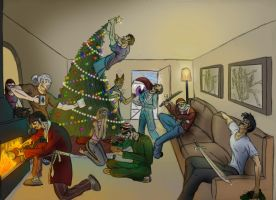 Merry Christmas by Ziddius