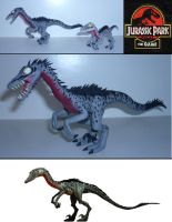Jurassic Park Troodon Sculpture Mk2 by Marshall-Arts-Comics