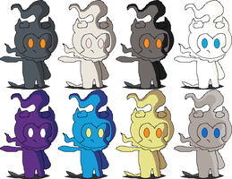 Marshadow SSB4 Alternate Costumes
