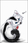 .:Meow:. by WhiteSpiritWolf