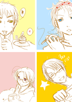 aph:: doodle - FACE by killmesoftlyluv