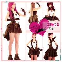 Pack PNG T-ara by GAJMEditions
