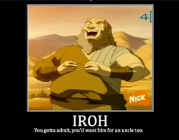 Uncle Iroh by Sugar-Shards