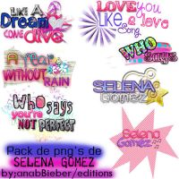text png Selena Gomez by anabbieber
