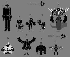 Pre DW5 concepts by monkibase