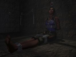 Sheva in dungeon - close-up by Vadda-Orca