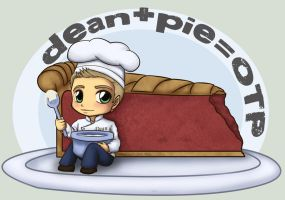 Dean and pie equals OTP by Kuchiki-Narla