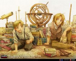FMA - Brothers - Wallpaper by Tilt-san