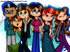 My Squad (2016 - 2017) by ANNE14TCO