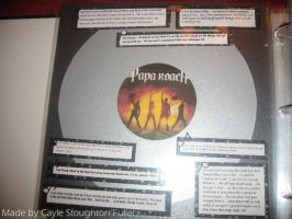 papa roach scrapbook page by vampire-88