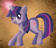 Twilight Sparkle Painting by Pony-Spiz