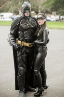 THE DARK KNIGHT RISES - Batman and Catwoman by Staceyleeh