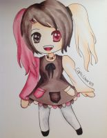 Neapolitan Chibi Girl Adoptable (CLOSED) by CopicUser101