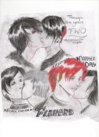 Frerard: Through the years 2 by GHOULISHGLOW