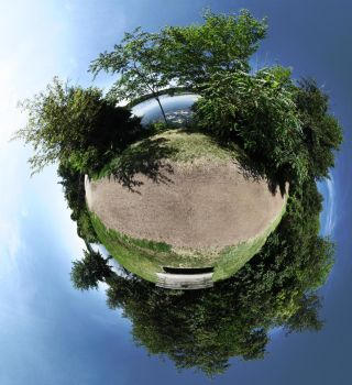 Mini Planet - The Trail by electricjonny