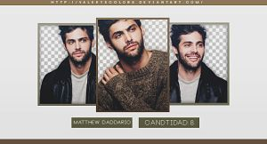 Matthew Daddario png pack by valeryscolors
