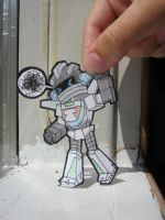 Wheeljack Paper child by merkitten